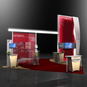 Modular-booth-design-with-Brochure-Holders